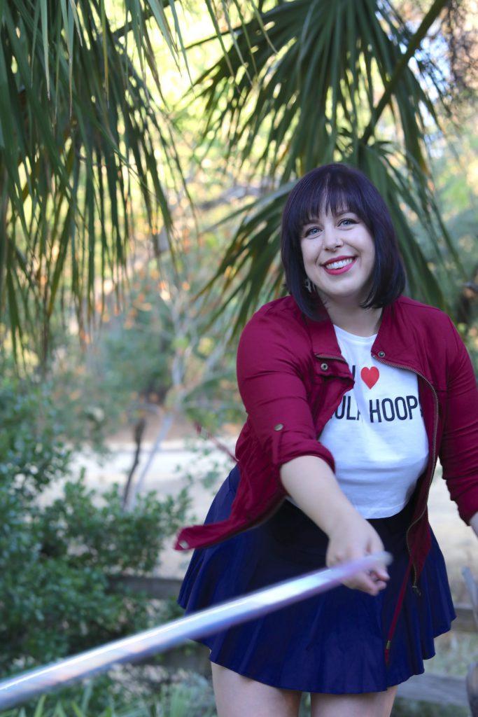 hula hoop at concord park