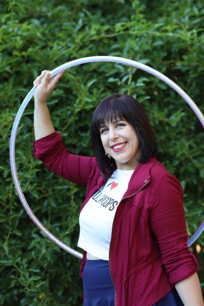 hula hoop in the city